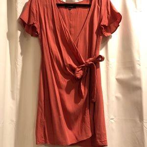 Lulus wrap dress